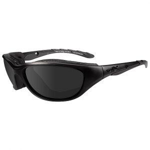 Wiley X Airrage Black Ops Glasses - Smoke Grey Lens / Matte Black Frame