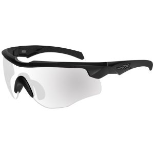 Wiley X WX Rogue COMM Glasses - Clear Lens / Matte Black Frame