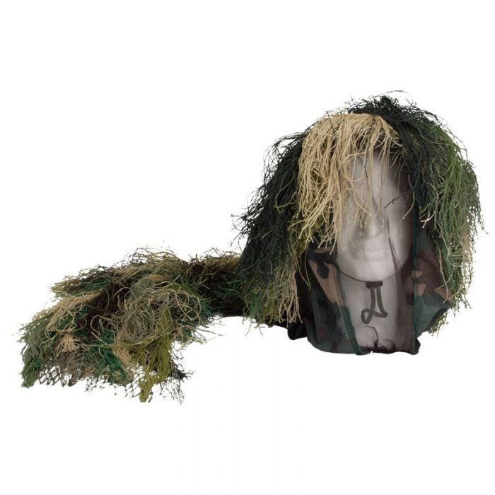 Mil-Tec Camouflage Bush Head Cover Woodland