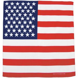 MFH Bandana Cotton US Flag