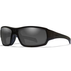 Wiley X WX Breach Glasses - Smoke Grey Lens / Matte Black Frame
