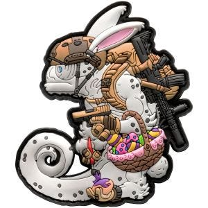 Patchlab Chameleon Easter Operator Patch White/Coyote