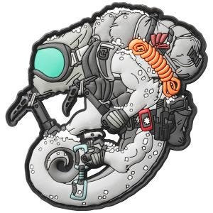 Patchlab Arctic Chameleon Patch White