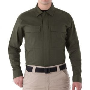 First Tactical Men's V2 Long Sleeve BDU Shirt OD Green