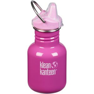 Klean Kanteen Kid Kanteen 355ml Bottle Sippy Cap Bubble Gum