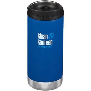 Klean Kanteen TKWide 355ml Insulated Bottle Cafe Cap 2.0 Deep Surf