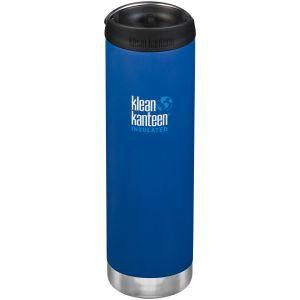 Klean Kanteen TKWide 591ml Insulated Bottle Cafe Cap 2.0 Deep Surf