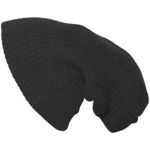 Pro Company Extra Long Knitted Beanie Hat Black