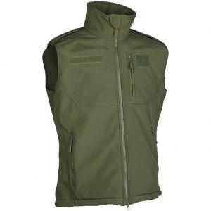 Mil-Tec Soft Shell Vest Olive