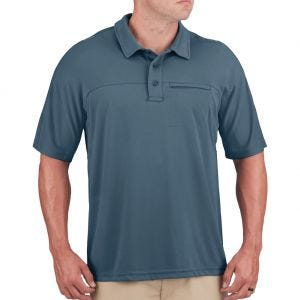 Propper Men's HLX Polo Short Sleeve Steel Blue