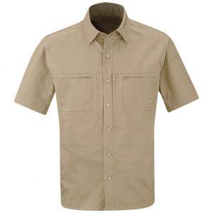 Propper Men's HLX Shirt Short Sleeve Khaki