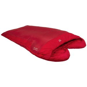 Highlander Serenity 300 Double Mummy Sleeping Bag Red