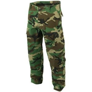 Teesar ACU Combat Trousers Woodland