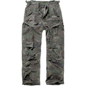 Brandit M-65 Vintage Trousers Woodland