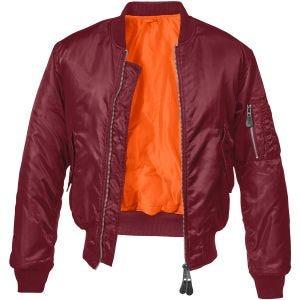 Brandit MA1 Jacket Burgundy