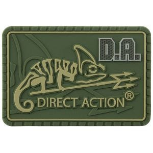 Direct Action Logo Patch Medium Olive Green