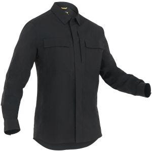 First Tactical Men's Tactix Long Sleeve BDU Shirt Black