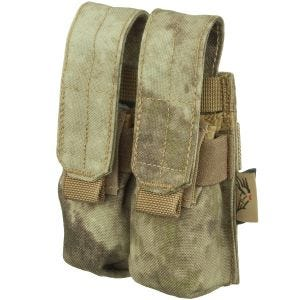Flyye Double 9mm Magazine Pouch Ver. FE MOLLE A-TACS AU