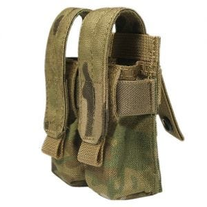 Flyye Double 9mm Magazine Pouch Ver. FE MOLLE MultiCam