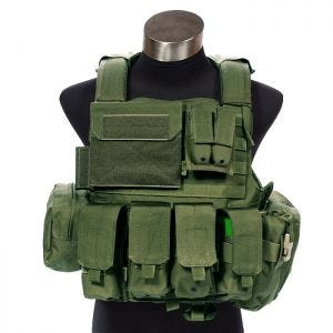 Flyye Force Recon Vest with Pouch Set ver. Land Olive Drab