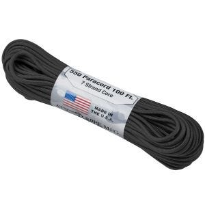 Atwood Rope 550 Lbs. Para Cord Black
