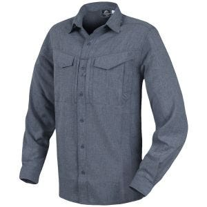 Helikon Defender Mk2 Gentleman Long Sleeve Shirt Melange Black-Grey