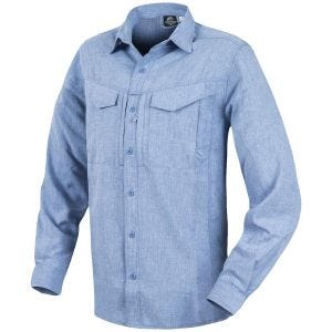 Helikon Defender Mk2 Gentleman Long Sleeve Shirt Melange Light Blue