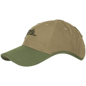 Helikon Logo Cap Polycotton Ripstop Coyote / Olive Green