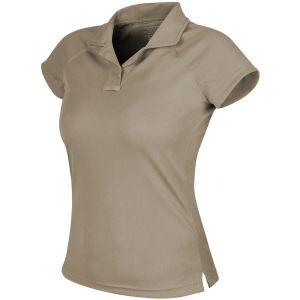 Helikon Women's Urban Tactical Line Polo Shirt TopCool Khaki