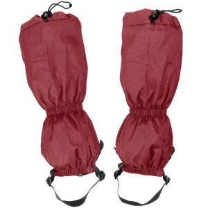 Highlander Walking Gaiters Red