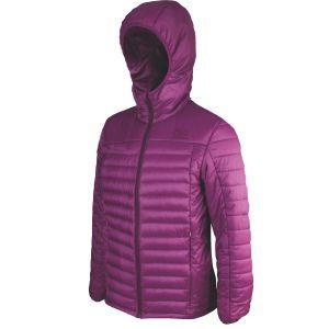 Highlander Women's Barra Insulated Jacket Purple