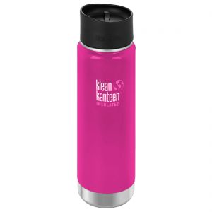 Klean Kanteen Wide Mouth Insulated 592ml Bottle Cafe Cap 2.0 Wild Orchid
