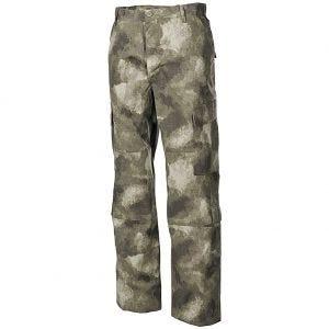 MFH ACU Combat Trousers Ripstop HDT Camo AU