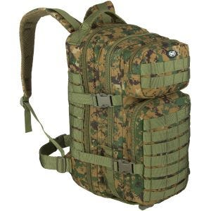 MFH Backpack Assault I Digital Woodland