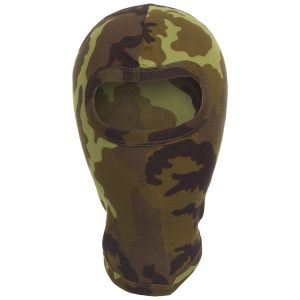 MFH 1 Hole Balaclava Lightweight Cotton Czech Woodland