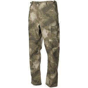 MFH BDU Combat Trousers Ripstop HDT Camo AU
