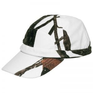 MFH Hunter Cap with Fluorescent Strip Hunter Snow