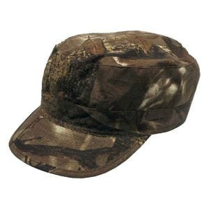 Hunter Ripstop Patrol Cap Hunter Brown