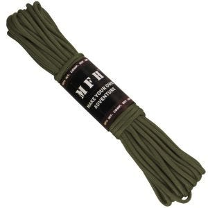 MFH Paracord 50ft OD Green