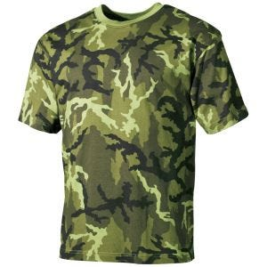 MFH T-shirt Czech Woodland