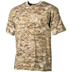 MFH T-shirt Digital Desert
