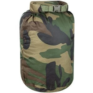 MFH Small Waterproof Duffle Bag Woodland