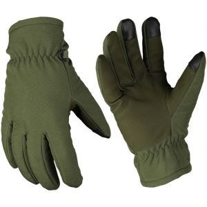 Mil-Tec Softshell Thinsulate Gloves Olive