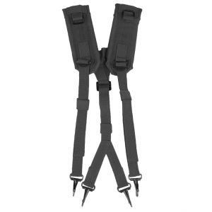 Mil-Tec US LC2 Suspenders Black