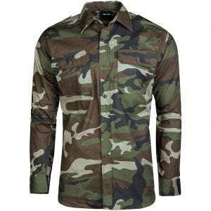Mil-Tec RipStop Shirt Long Sleeve CCE