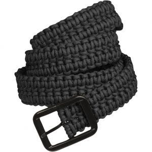 Mil-Tec Paracord Belt Black