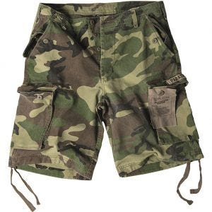 Paratrooper Cargo Shorts Prewashed Woodland