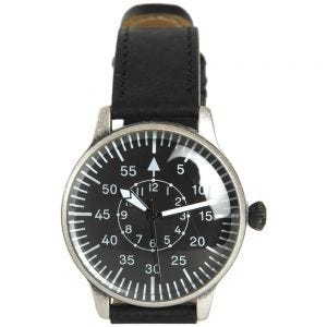 Mil-Tec Pilot Watch Retro Look Black Dial