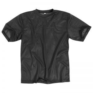 Mil-Tec T-Shirt Mesh Black