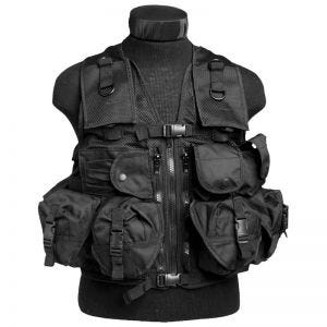 Mil-Tec Ultimate Assault Vest Black